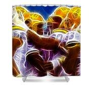 Lsu Magical Shower Curtain by Paul Van Scott