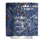 Lube Port Shower Curtain