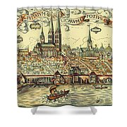 Lubeck, Germany Shower Curtain