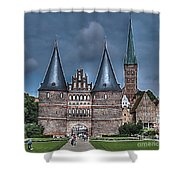 Lubek Germany Shower Curtain