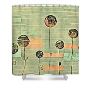 Lubi - S02-34ab Shower Curtain