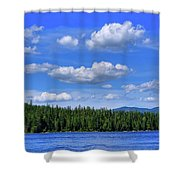 Luby Bay View Shower Curtain