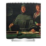 Luca Pacioli, Franciscan Friar Shower Curtain