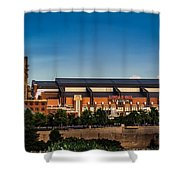 Lucas Oil Stadium Shower Curtain