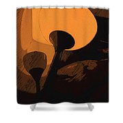Luce Shower Curtain