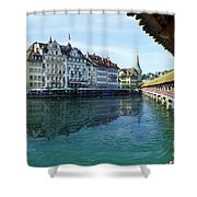 Lucerne 3 Shower Curtain