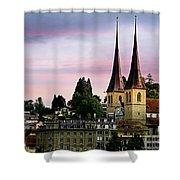 Lucerne 8 Shower Curtain