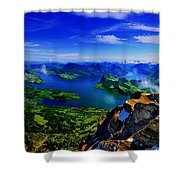 Lucerne Shower Curtain