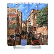 Luci A Venezia Shower Curtain