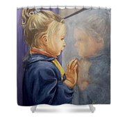 Luciana P. Shower Curtain
