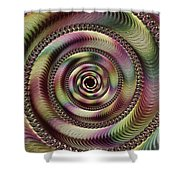Lucid Hypnosis Abstract Wall Art Shower Curtain