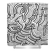 Lucidity Shower Curtain