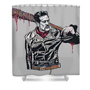 Lucille Is Thirsty Shower Curtain
