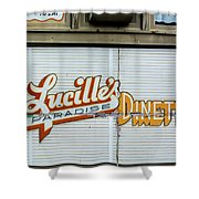 Lucille's Shower Curtain