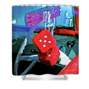 Lucky 5 Shower Curtain