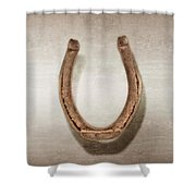 Lucky Horseshoe Shower Curtain