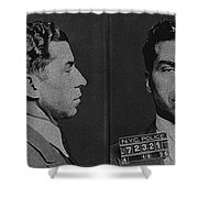 Lucky Luciano Shower Curtain