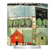 Lucky Man Shower Curtain