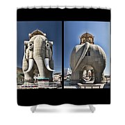 Lucy Coming And Going Shower Curtain
