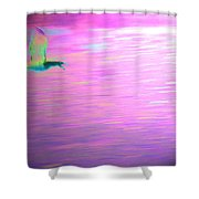 Lucy In The Sky Shower Curtain
