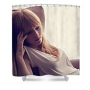 Lucy Rose Shower Curtain