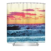 Lucy Vincent Surf Shower Curtain