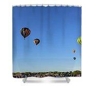 Luft Shower Curtain