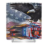 Luge Shower Curtain