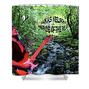 Lukas By The Creek 2 Shower Curtain