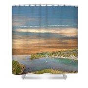 Lulworth Cove Shower Curtain