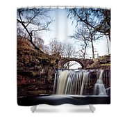Lumb Falls Panoramic Shower Curtain