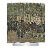 Lumber Sale Nuenen  January 1884 Vincent Van Gogh  1853  1890 Shower Curtain