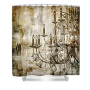 Lumieres II Shower Curtain
