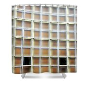 Lumina Squares Shower Curtain
