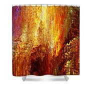Luminous - Abstract Art Shower Curtain