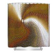 Luminous Energy 16 Shower Curtain by Will Borden
