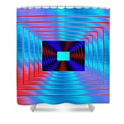 Luminous Energy 17 Shower Curtain by Will Borden