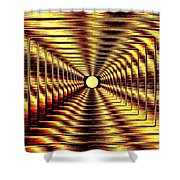 Luminous Energy 2 Shower Curtain by Will Borden