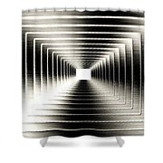 Luminous Energy 3 Shower Curtain