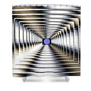 Luminous Energy 6 Shower Curtain