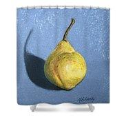 Lumpy Pear Shower Curtain