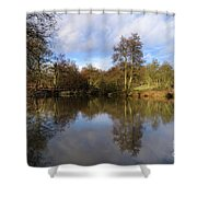 Lumsdale Pool Shower Curtain
