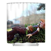 Lumuel Relaxed Shower Curtain