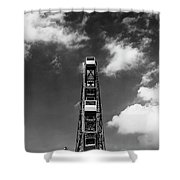 Luna Park, Coney Islance Brooklyn Ny Shower Curtain