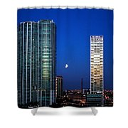 Lunar Eclipse-04apr2015-2 Shower Curtain