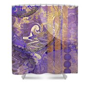 Lunar Impressions Shower Curtain