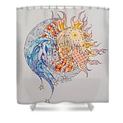 Lunasol Shower Curtain