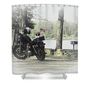 Luncheon At The Park Shower Curtain