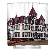 Lunenburg Academy 2 Shower Curtain