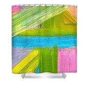 Lunsar Town - Sierra Leone Shower Curtain